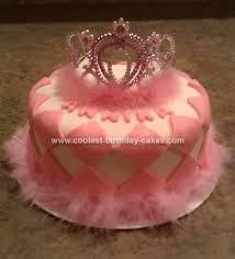 Coolest Princess Crown Birthday Cake 14