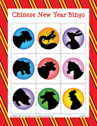 Small Picture Chinese New Year Bingo Gift of Curiosity