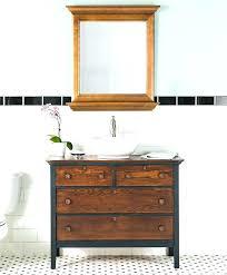 dresser vanity sink old dressers turned into bathroom vanities for making a white b