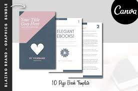 Ebook Template How To Design Beautiful Ebooks With Canva Yourchicgeek