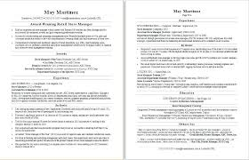 Career Resume Examples Sample Resume For A Retail Manager Career ...