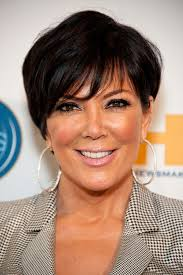 kris jenner added a touch of pale pink gloss to her bronzed look pink lipstick