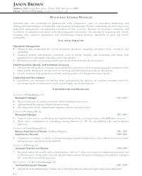 Restaurant Manager Resume Restaurant Manager Resume Sample