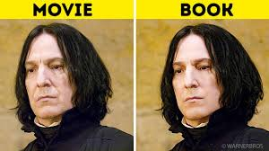 harry potter characters in the books vs in the s