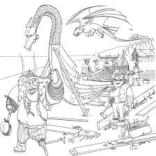 Small Picture How to Train Your Dragon Coloring Pages