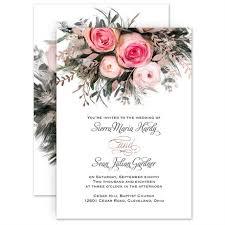 Wedding Invitatiins Ethereal Garden Foil Invitation Invitations By Dawn