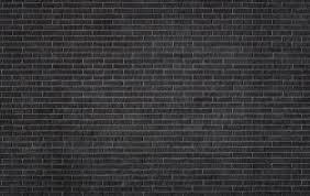 black brick texture. Black Brick Wall Texture Stock Photo W