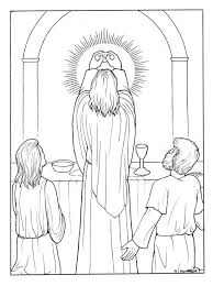 The Catholic Illustrators Guild Luminous Mysteries Coloring Book Pages