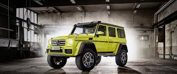 When mercedes introduced the bold, imposing g500 4x4 squared at the 2015 geneva motor show, it said it would consider production based upon the reaction it received. The Mercedes Benz G Class G 500 4x4 G Class Squared