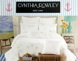 Cynthia Rowley Starfish Quilt Twin Size White Aqua Blue and Green ... & Cynthia Rowley Starfish Quilt Twin Size White Aqua Blue and Green Cynthia  Rowley New York http Adamdwight.com