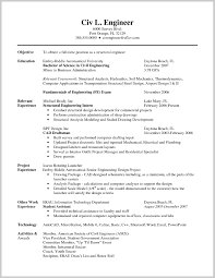 Resume Example Engineering Beautiful Good Engineering Resume Examples 24 Resume Example Ideas 15