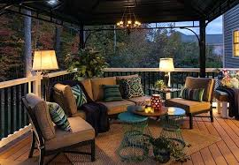 patio deck decorating ideas. Deck Pictures Ideas Conversation Area On A Composite With Outdoor  Lighting And Lanterns Decorating . Patio
