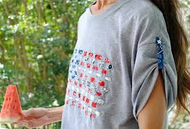 How To Make A Cool Shirt Cool 4th Of July Looks Make A Woven Flag T Shirt