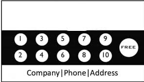 Free Punch Cards Template Punch Card Blank Template Imgflip
