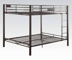 metal bunk bed. Black Queen Over Bunk Bed Metal R