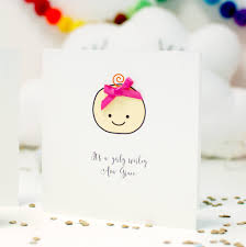 baby congratulations cards cute baby face new baby girl congratulation card by made with love