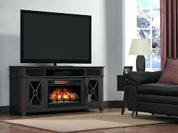 fireplace tv in infrared electric firebox with log set ii042fgl fireplace tv stand costco