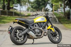 review 2016 ducati scrambler icon for hipsters