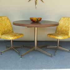 Vintage Formica Table With Two Chairs Vintage Kitchen Formica
