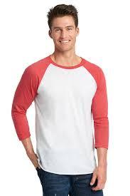 Next Level Raglan Shirt Size Chart Tri Blend 3 4 Raglan