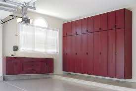 Maple Storage Cabinet Contemporary Decoration Garage With Premium Custom Built Garage