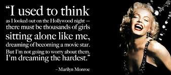 Marilyn Monroe Dream Quotes