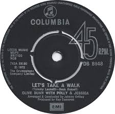 Let's take a walk / tell us by Clive Dunn , Polly Dunn & Jessica Dunn,  7inch x 1 with recordsale - Ref:3095290363