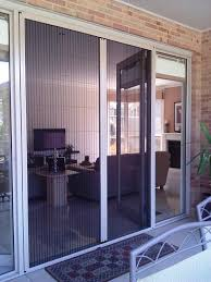 larson retractable screen door. Awesome Retractable Screen Door With White Trim Board Matched Brick Wall For Home Exterior Design Larson E