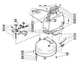 bostitch cap2060p om200 parts master tool repair cap2060p om200 portable oil hand carry air compressor parts schematic