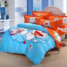 cartoon comforter sets aliexpress com 3d blue orange doraemon kids 14