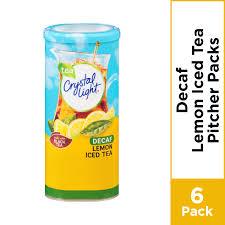 Crystal Light Lemon Iced Tea Drink Decaffeinated 1 5 Oz
