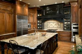 Crema Bordeaux Granite Kitchen Charming Traditional Kitchen Furnishings Ideas With Black And
