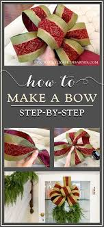 how to make a decorator s bow a diy step by