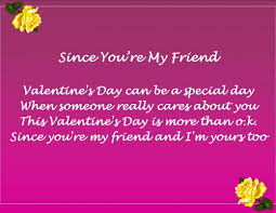happy valentines day poems for friends.  Friends Whatu0027s Your Opinion About Valentineu0027s Day And Friends Throughout Happy Valentines Poems For E