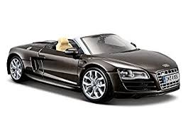 audi r8 convertible black. maisto 124 scale audi r8 spyder diecast vehicle colors may vary convertible black