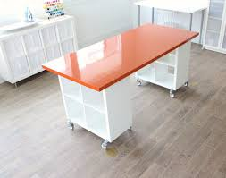 office table ideas. 73 Most Fantastic Craft Desk Ideas Ikea Table Fold Out Office Scrapbooking Flair