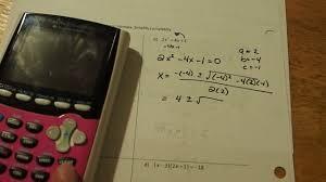mat 039 2 8b solving quadratic equations using the square root property and the quadratic formula