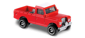 Land Rover Series III Pickup in Red, HW HOT TRUCKS, Car Collector ...