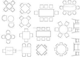 dining chair autocad. dining tables dwg, cad blocks, free download. chair autocad