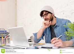 corporate home office. Corporate Portrait Of Young Hispanic Attractive Hipster Businessman Working At Modern Home Office. Handsome, Desk. Office E