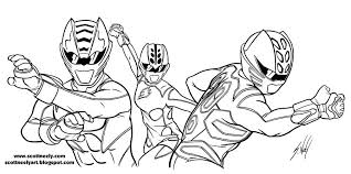 Coloring Pages Power Rangers