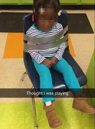 duct tape furniture. Missouri Parents Said A Day Care Worker Duct Taped Their Daughter To Chair. Tape Furniture B