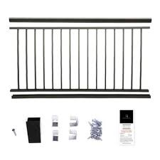 Art metal provides you with options so you can get the kind and style we offer wood, glass, and wrought iron railings to ensure we have your preference covered. Deck Stair Railings Deck Railings The Home Depot