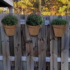 mpg medium composite fence pots plain
