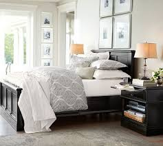 wall colors for black furniture. branford bedside table pottery barndonu0027t like unfinished edges but the decorating bedroomsroom ideaspottery barn bedroomsblack wall colors for black furniture