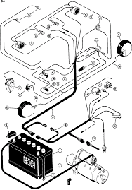 Basic tractor wiring diagram within and engine