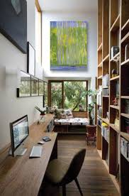 office for small spaces. Unique Office A Narrow Walkway Is Transformed Into An Unexpected Office Space In Office For Small Spaces L