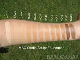 Mac Studio Sculpt Foundation Swatches Photos Reviews