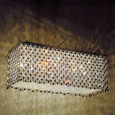 full size of lighting glamorous rectangular crystal chandelier 10 0000764 27 rainbow modern polished chrome 18