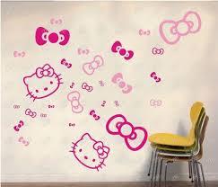 Cartoon Hello Kitty Wall sticker Decorative Sticker. 3411-3.jpg ...